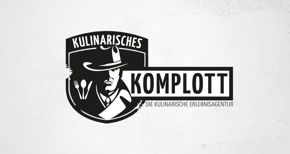 Black White Logo Vintage 788996 Kulinarisches Komplott