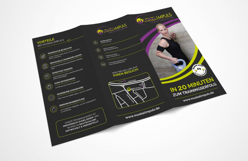 EMS Fitness Flyer Design 366339