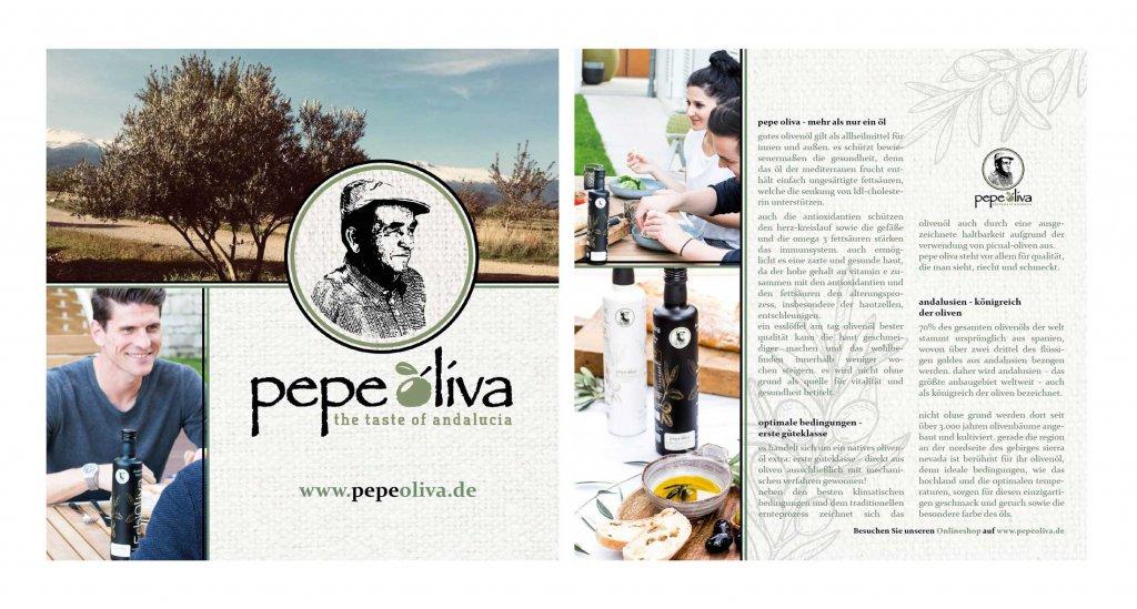 Flyer Design Beispiele Pepe Oliva Olivenöl 296269