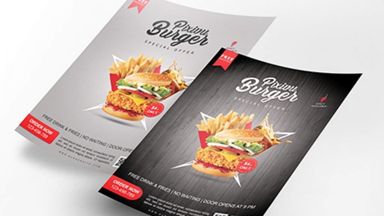 10 Inspirierende Flyer Designs Saxoprint Blog Saxoprint 9