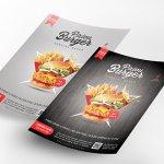 Flyer-Design Burger