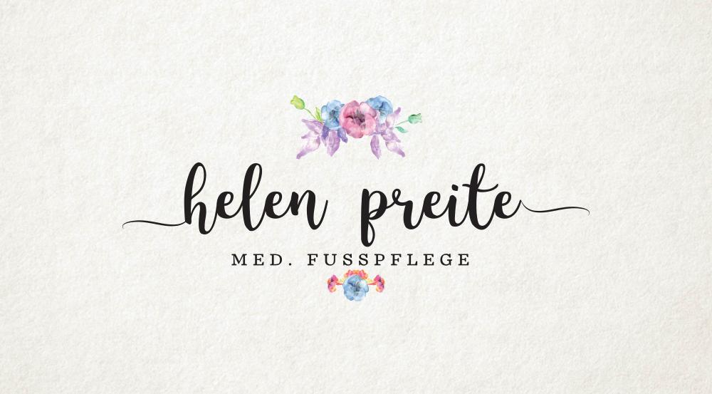 Klassisches Logo Design Vintage 753282 Helen Preite Fusspflege