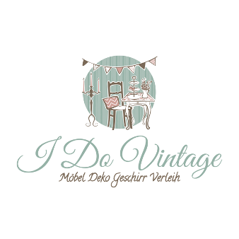 Logo Vintage 355969 I Do Vintage Möbel Deko Geschirr Verleih Vintage Farben