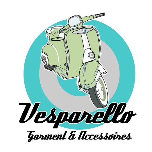 Retro Logo 531763 Vesparello Design