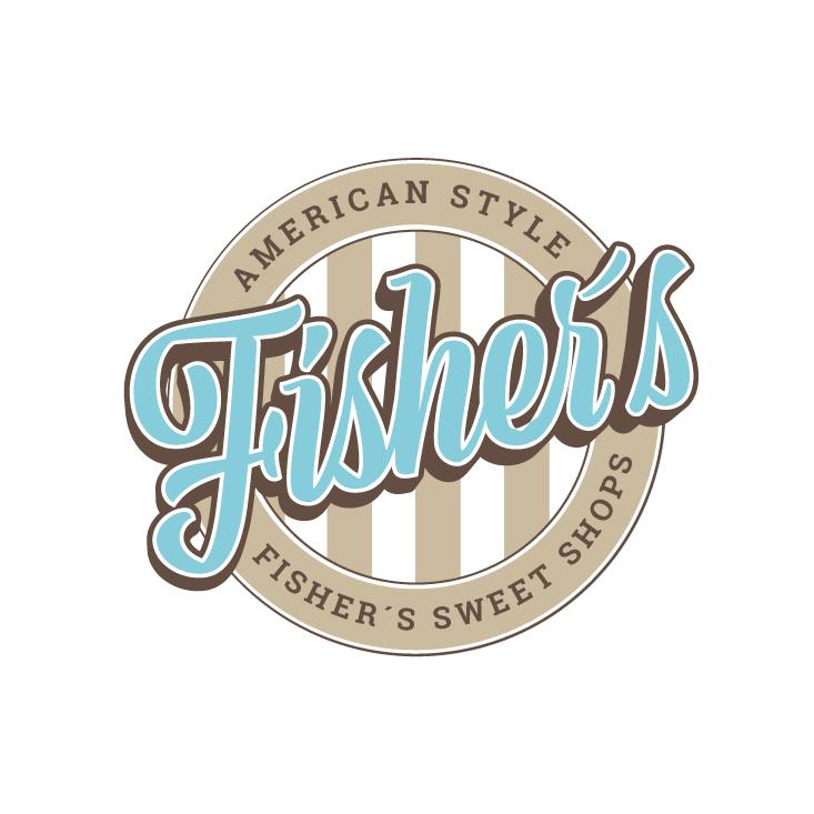 Vintage Farben 853861 Fishers Sweet Shops Logo
