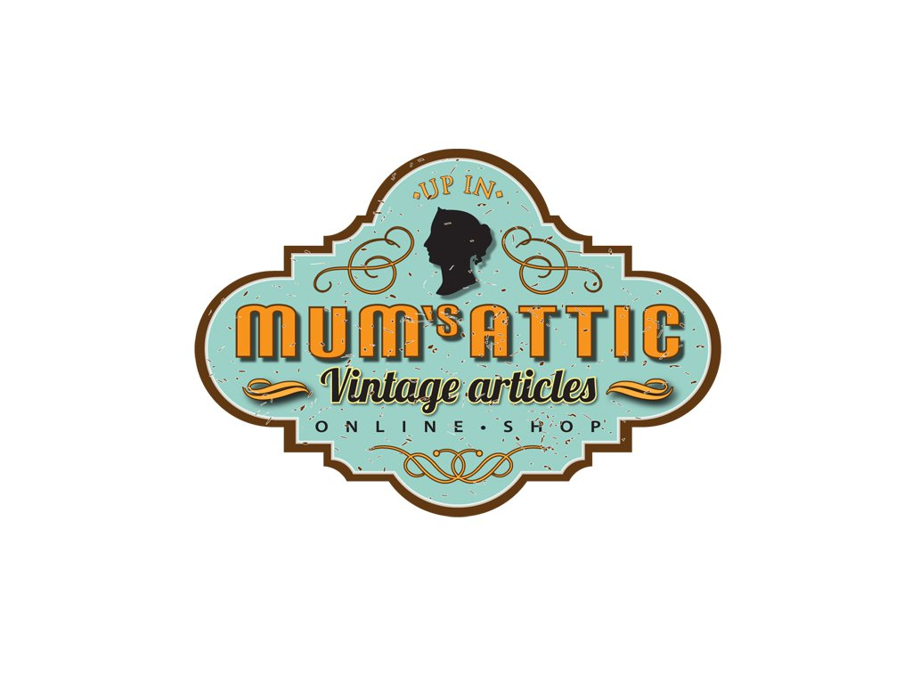 Vintage Logo 383319 Mums Attic Vintage Articles