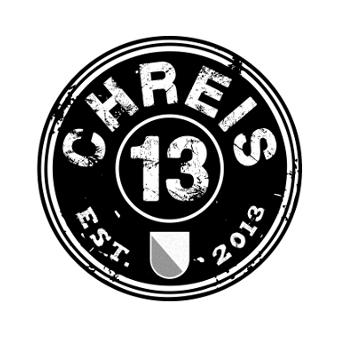 Vintage Logo Schwarz Weiß 331798 Chreis 13