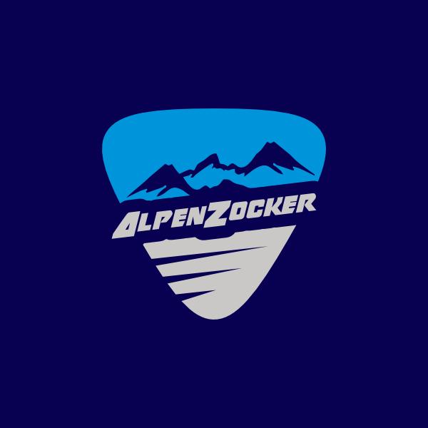 alpen zocker logo nerd