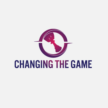 change the game logo design