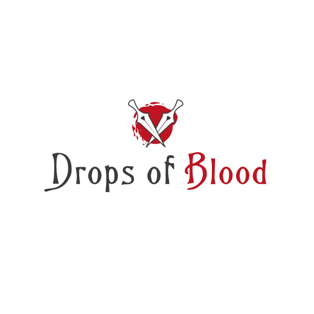 clan logo maker design drops of blood