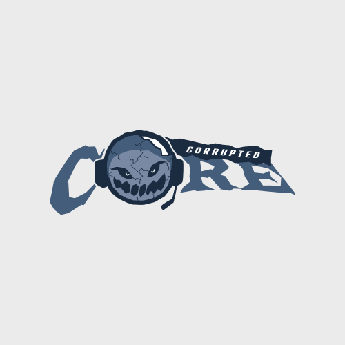 corupted core clan logo design nerd