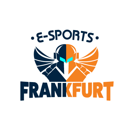 e-sports frankfurt video game logo