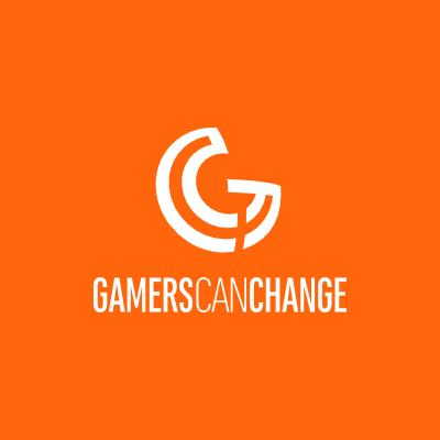 gamerscanchange.com logo game minimalistisch
