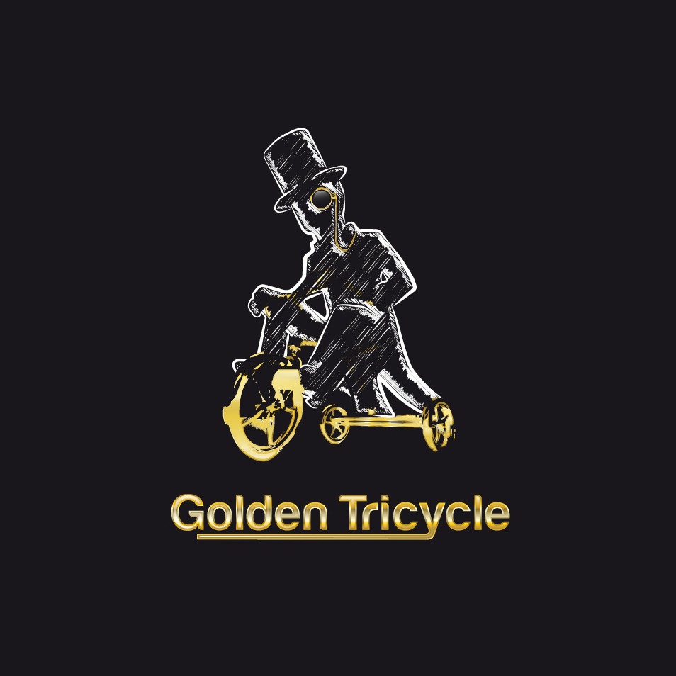 golden tricycle gaming logo