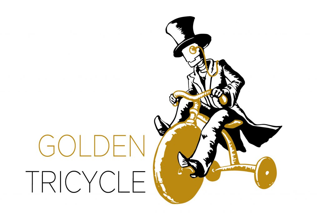 golden tricylce clan logo nerd
