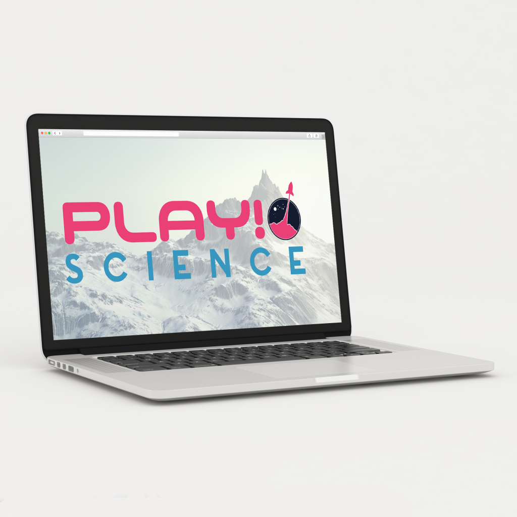 logo spiel video game play science