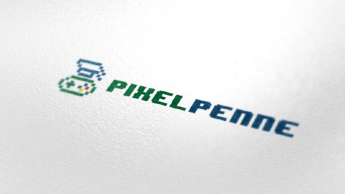 nerd logo pixelpenne