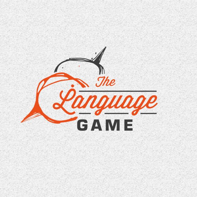 the language game logo design wortmarke