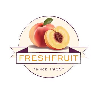 217734 Orange Logo FreshFruit Illustration