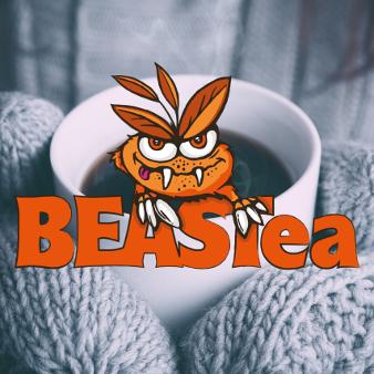 Beastea Orange Farbe Logo 242363 Illustriert