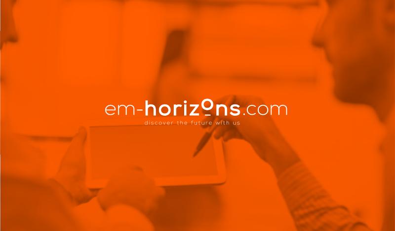 Consulting Logo Design EM Horizons 131699