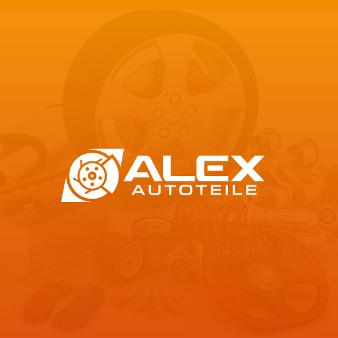 Minimalism Orange Logo Alex Autoteile 226752