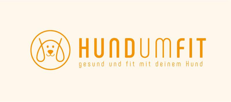 Orange Farbe Logo Minimalistisch Hundumfit 249367
