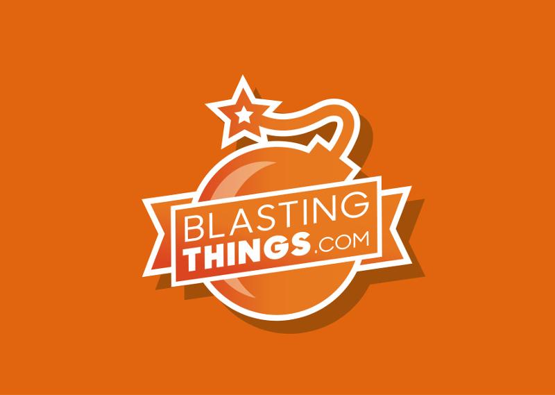 Orange Logo Blasting Things 131187 Emblem DesignOrange Logo Blasting Things 131187 Emblem DesignOrange Logo Blasting Things 131187 Emblem Design