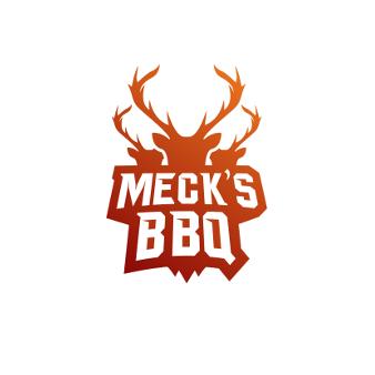 Orange Logo Mecks BBQ 946142 Design Emblem