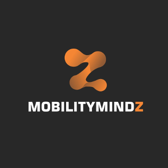 Orange Logo Minimalistisch MobilityMindz 672812