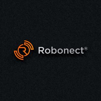 Orange Logo Robonect 953568 Minimalism