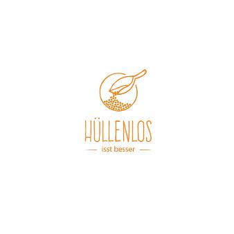 Orange Logo in minimalistisch Hüllenlos 487835