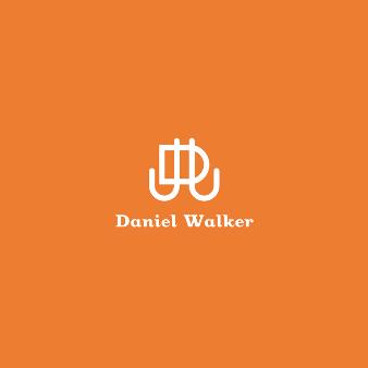 Schlichte Orange Logos Daniel Walker 812274