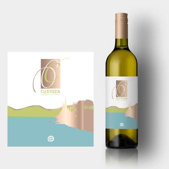 295769 Custoza Elegantes Weinetiketten Design