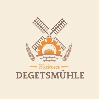 Bäckerei Degetsmühle Logo 693696