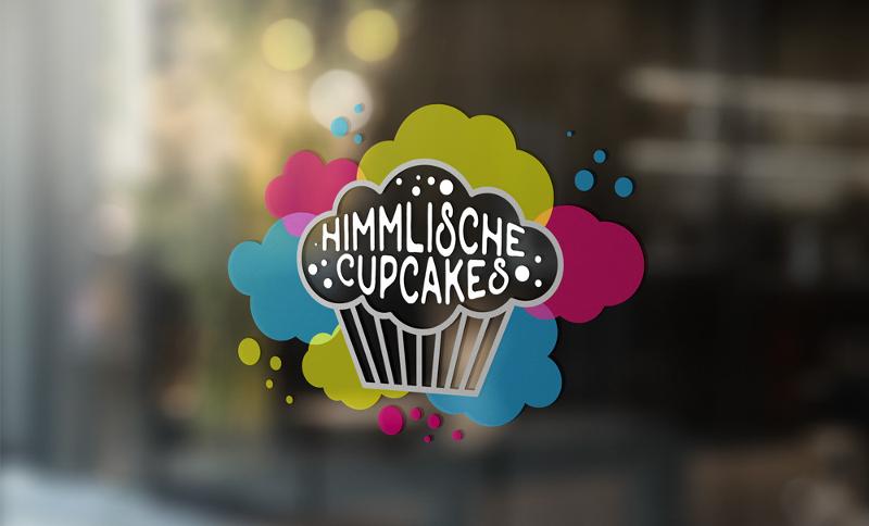 Bäckerei Himmlische Cupcakes Logo 128917