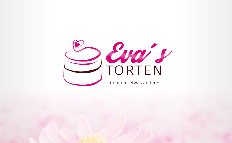 Bäckerei Logo Evas Torten 345158