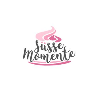 Süße Momente Klassisches Bäckerei Logo 815247