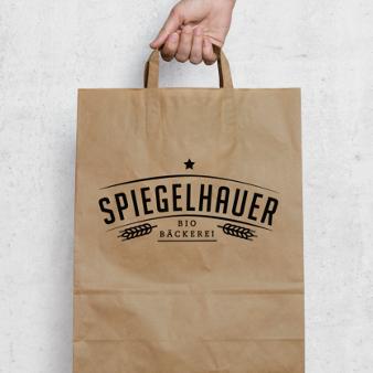 Spiegelhauer Klassisches Bäckerei Logo 983133