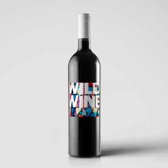 Weinetiketten Design Bunt WildWein 788413