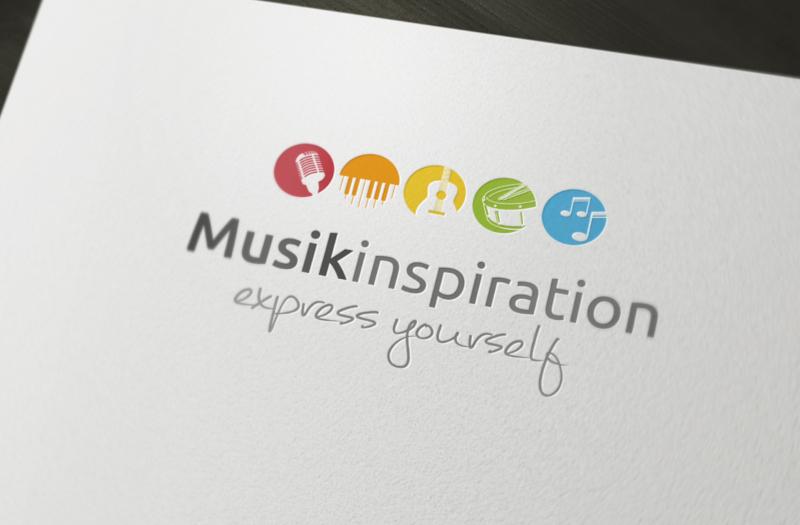 Musikinspiration Musikschule Logo Design 366587