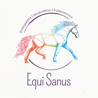 488178 Equi Sanus Design in Bunt Logo