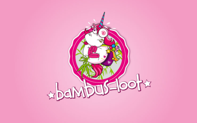 Bambus Loot Farbenfrohes Logo 696291
