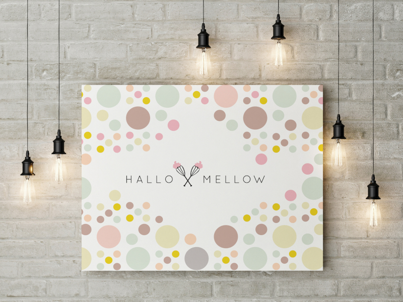 Buntes Design Hallo Mellow 133547