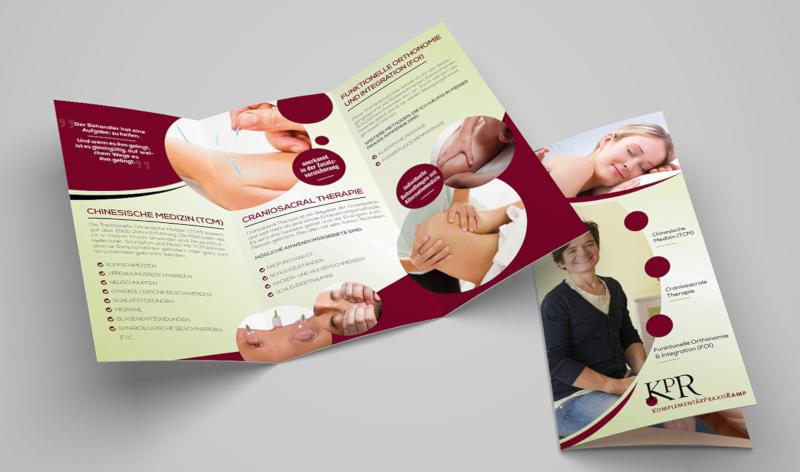 Design Flyer Alternativmedizin 335938