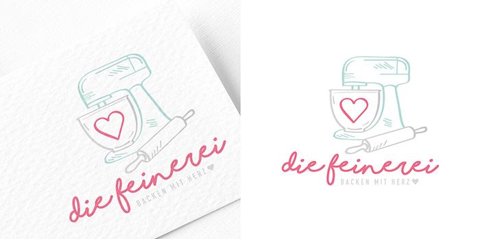 Die Feinerei Logo-Design Logo Entwicklung