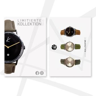 Flyer Design Uhrenkollektion 897412
