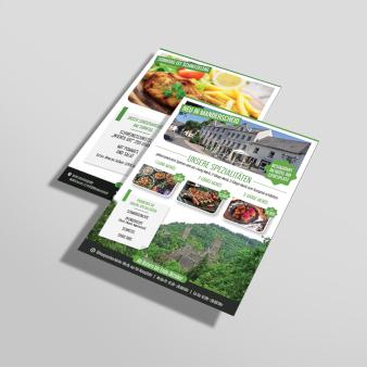Flyer Design für Hotel 853682