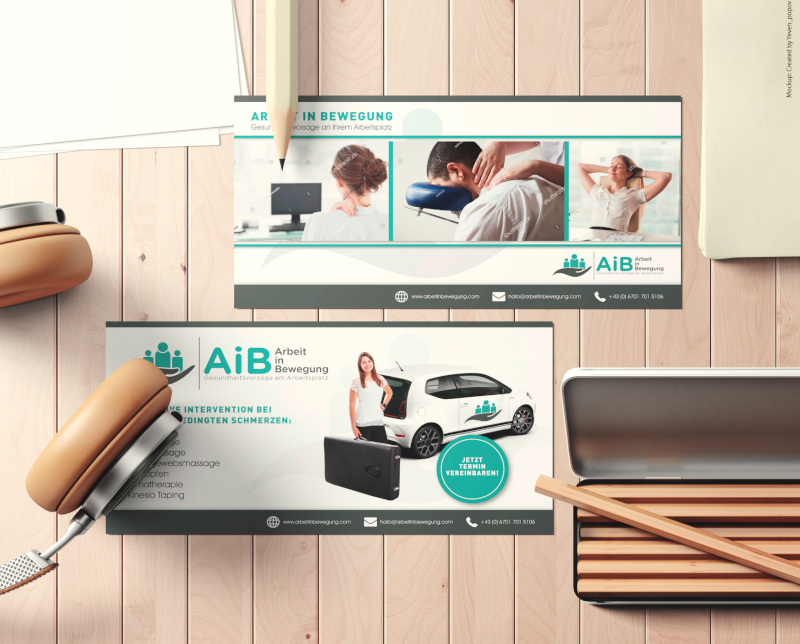 Gesundheitsvorsorge Arbeitsplatz Flyer Design 227954