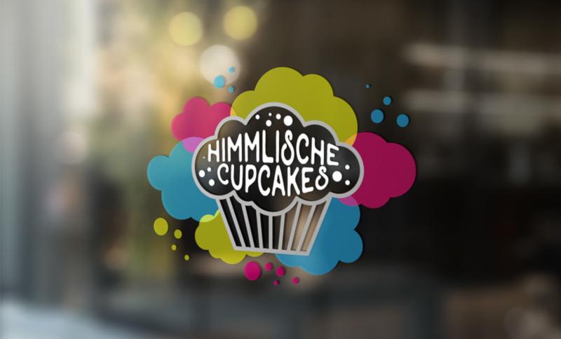 Himmlische Cupcakes 128917 Logo in Bunt